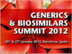 Generics & Biosimilars Summit 2012
